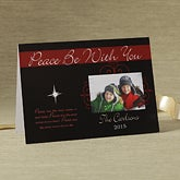 Personalized Photo Christmas Cards - Peace Be With You - 8786