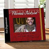 Personalized Firefighter Picture Frame - 8802