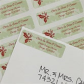 Our First Christmas Personalized Return Address Labels - 8852