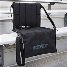 Personalized Portable Padded Bleacher Seat - 8946