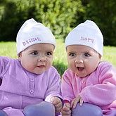 Personalized Baby Twins and Triplets Hats - 8955