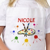 Personalized Kids Art Apron - 8975