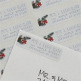 Personalized Writing In The Snow Return Address Labels - 8981