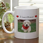 Personalized Pet Photo Coffee Mug - 8982