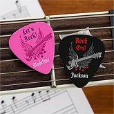 Personalized Guitar Picks - Rockstar - 9015