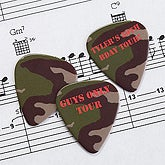 Camo Personalized Guitar Pick