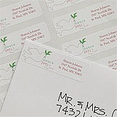 Personalized Peace Dove Return Address Labels - 9047
