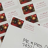 Personalized Merry & Bright Holiday Return Address Labels - 9062