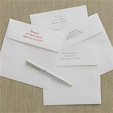 "Personalized Return Address Imprinted Envelopes - 6"" x 6"" - 9063"