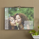 Personalized Photo Calendars - 12 Month Wall Calendar - 9076