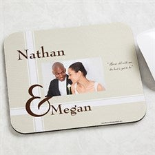 Personalized Photo Mouse Pad - To Love You - 9078