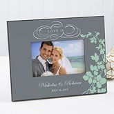 Personalized Picture Frames - Love Is Romantic Photo Frame - 9081