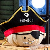 Personalized Halloween Treat Bags - Pirate - 9085