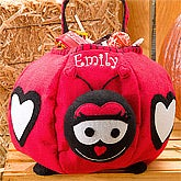 Personalized Halloween Trick or Treat Bags - Ladybug - 9086
