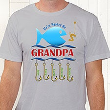 3505af5c Personalized Clothes & Accessories - Hooked On You Fish Design - 9105