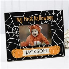 Personalized Baby's First Halloween Photo Frame - 9110