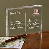 Personalized Gift Keepsake - Special Delivery Postcard  - 9133
