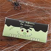 Personalized Halloween Candy Bar Wrappers - Frankenstein - 9148