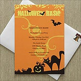 Halloween Bash© Party Invitations