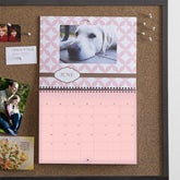 Personalized Photo Wall Calendar - Through The Year - 9156