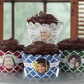 Personalized Photo Cupcake Wrappers - You Picture It - 9219