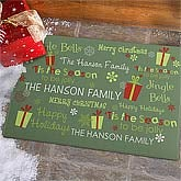 Personalized Holiday Doormats - Jolly Holiday - 9247