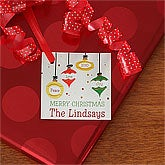 Personalized Christmas Gift Tags - Christmas Ornaments - 9253
