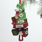 Born to Shop Personalized Christmas Gifts Ornament - 9277