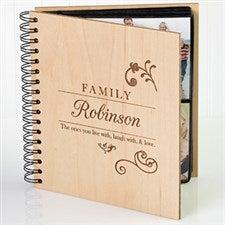 Personalized Photo Album - Family Love - 9309
