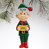 Personalized Family Christmas Ornaments - Big Brother - 9363