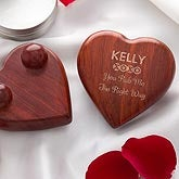 Personalized Massager - Engraved Heart - 9371