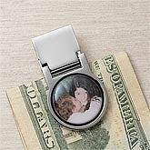 Personalized Photo Money Clip - 9379D