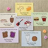 Personalized Valentine's Day Cards - We Go Together - 9396