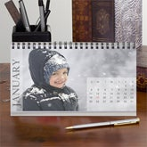 Personalized Photo Desk Calendars - Any 12 Months - 9405