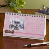 Personalized Desk Calendars - Through The Year - 9416