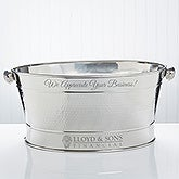 Personalized Engraved Logo Recreational Tub - 9460