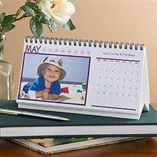 Photo Desk Calendar - Through The Year - 9477