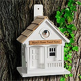 Personalized Birdhouse - Home Tweet Home - 9530