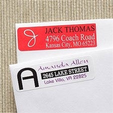 Personalized Return Address Labels - Personally Yours - 9541
