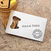 Personalized Corporate Engraved Logo Bottle Opener - 9551