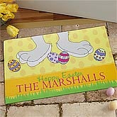 Personalized Easter Doormats - Hop On In - 9567