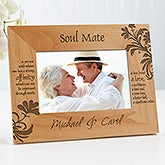 Personalized Picture Frames - Soul Mate - 9622