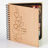 Personalized Photo Albums - Hearts of Love - 9624