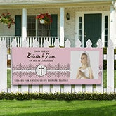 Personalized First Communion Photo Banner - 9629