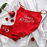 Personalized Camisole and Shorties Underwear Set - My Girl - 9689