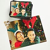 Personalized Holiday Photo Puzzle And Tin - Holiday Memories  - 9701