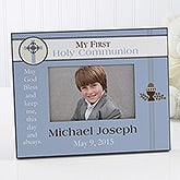 A Boy's First Communion© Personalized Frame