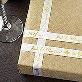 Custom Printed Anniversary Party Favor Ribbon - 9767D