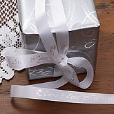 Custom Printed Anniversary Party Favor Ribbon - 9767D