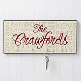 Personalized Key Rack - Don't Forget - 9797